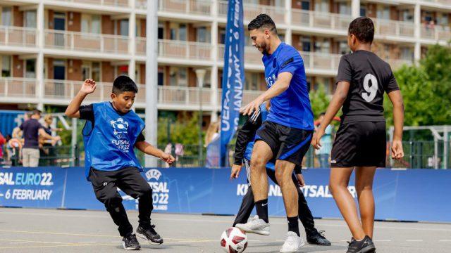 Inschrijven voor Futsal