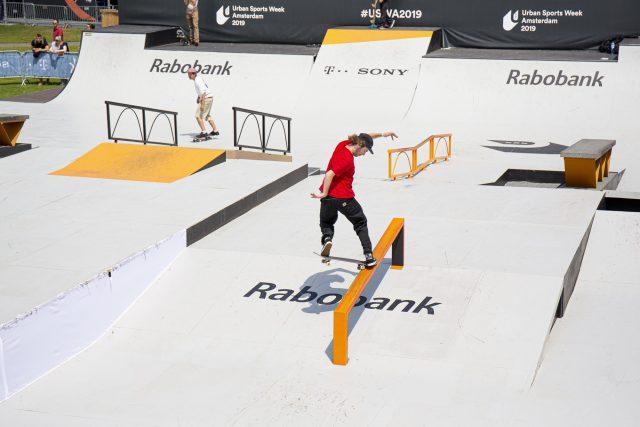 Amsterdam Open 2019 Finale Skateboarden